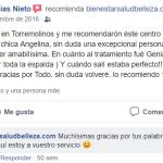 Recomendaciones en Facebook